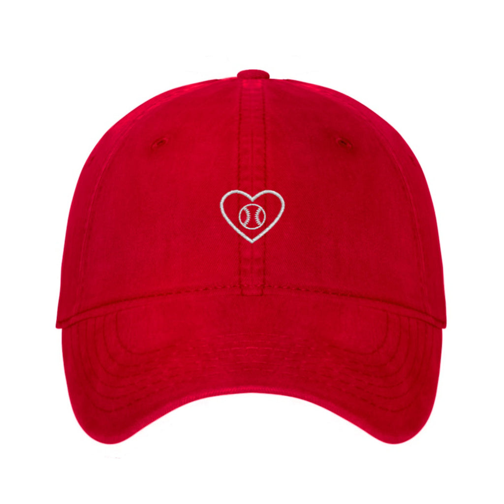 Baseball Lover embroidered dad hat