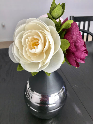 Peonies arrangement