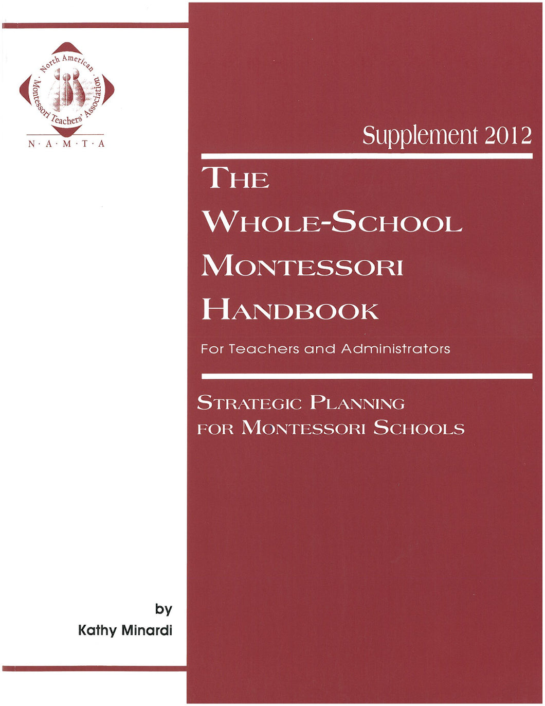 Whole School Handbook, Supplement 2012