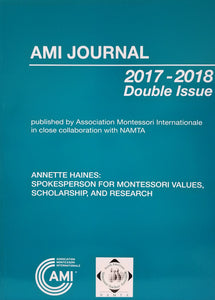 AMI and NAMTA double issue journal, Volume 43.1-2: Annette Haines Tribute Journal