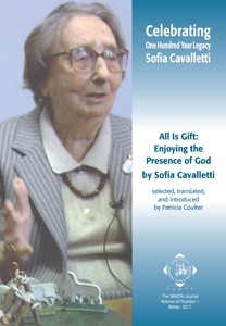 Vol 42, No 1: All is Gift: Enjoying the Presence of God by Sofia Cavalletti
