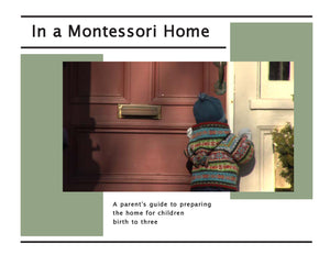 In a Montessori Home DVD