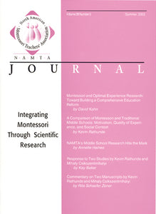 Vol 28, No 3: Integrating Montessori through Scientific Research