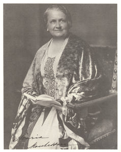 Maria Montessori Signed Photo