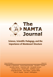 Vol 36, No 1: Science, Scientific Pedagogy, and the Importance of Montessori Structure