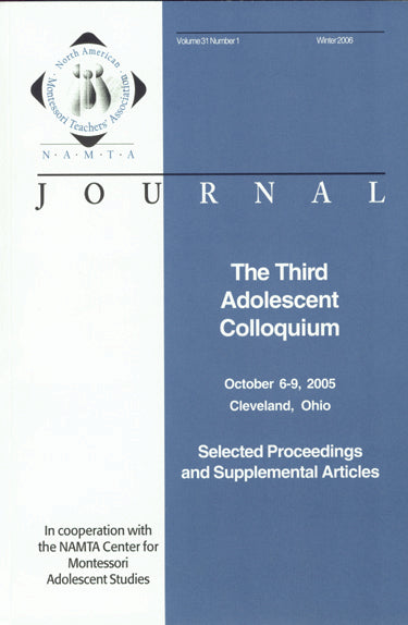 Vol 31, No 1: The Third Adolescent Colloquium