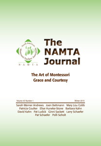 Vol 40, No 1: The Art of Montessori Grace and Courtesy