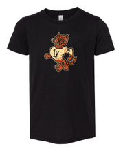Load image into Gallery viewer, Retro Wildcat Tri-Blend Tee (Youth)