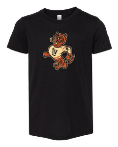 Retro Wildcat Tri-Blend Tee (Youth)
