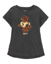 Load image into Gallery viewer, Retro Wildcats Girls' Distressed Tee