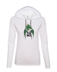 SGMS Women's Hooded LS Tee