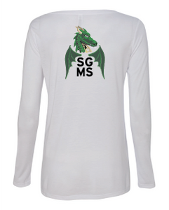 SGMS Women's Flowy Long Sleeve Tee