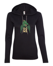 Load image into Gallery viewer, SGMS Women's Hooded LS Tee