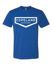 Load image into Gallery viewer, Copeland Cougars Libertyville Spiritwear Royal Blue