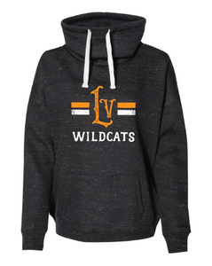 Women's Cowl Neck Wildcats Sweatshirt