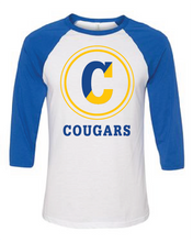 Load image into Gallery viewer, Copeland C White Baseball Tee