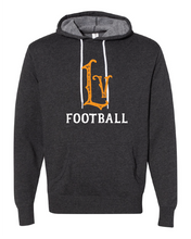 Load image into Gallery viewer, Libertyville Wildcats Football Throwback Hoodie