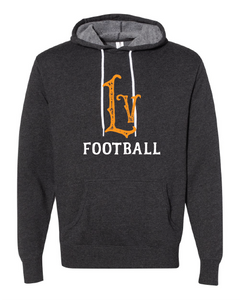 Libertyville Wildcats Football Throwback Hoodie