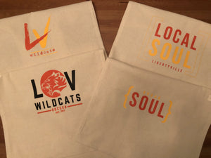 Local Soul Libertyville Cotton Canvas Tote Bag