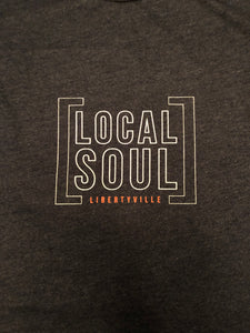 Local Soul Libertyville Ladies Crewneck Tee