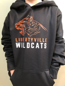 Libertyville Wildcats Youth Performance Hoodie