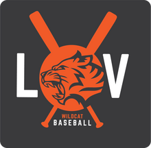 Load image into Gallery viewer, Libertyville Wildcats Baseball Youth Spring Sports Performance Tee