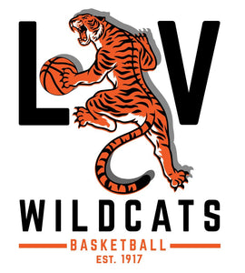 Libertyville Wildcats Basketball Youth Digi Camo Performance Tee