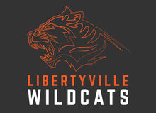 Load image into Gallery viewer, Libertyville Wildcats Youth Spring Sports Performance Tee