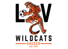 Load image into Gallery viewer, Libertyville Wildcats Soccer Youth Digi Camo Performance Tee