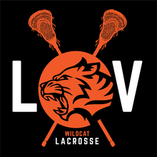 Load image into Gallery viewer, Libertyville Wildcats Lacrosse Youth Spring Sports Performance Tee