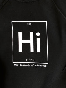 Hi - Element of Kindness Women's Cropped Hoodie