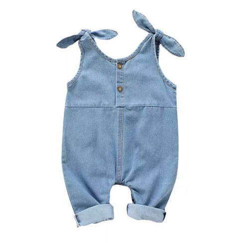 Mia Denim Romper