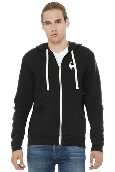 FITNESS PERSON ZIP-UP HOODIE