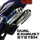 Quad Dual Exhaust System - Pocketbike SA