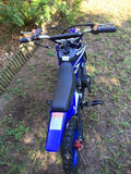 KXD Dirt Bike Fairing Kit - Blue - Pocketbike SA