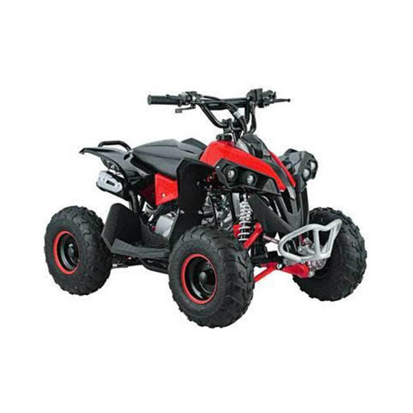 The 110cc 4 Stroke Renegade Quad Bike - Electric Start - Red