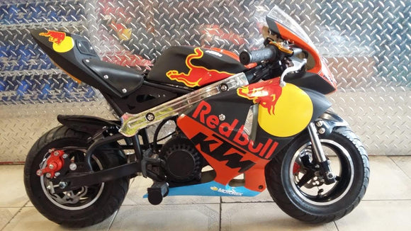 Replica of Brad Binder #33 Sticker Kit - Pocketbike SA