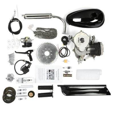 80cc 2 Stroke Engine Bicycle Conversion Kit. - Pocketbike SA
