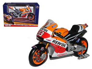 Model Bike 1:18 Maisto #93 Marc Marquez Repsol Honda - Pocketbike SA
