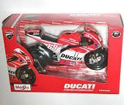 Model Bike 1:18 #69 Nicky Hayden - Ducati - Pocketbike SA