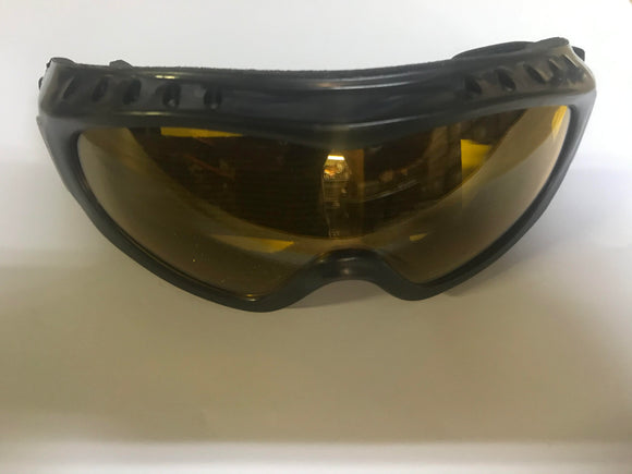 Motocross Goggles - Orange Tint