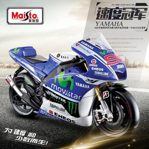 Model Bike 1:10 #99 Jorge Lorenzo - Yamaha MoviStar