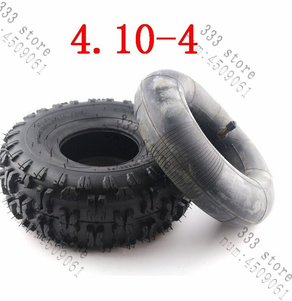 COMBO Deal: X1 Mini Quad 4.10-4 Tyre + X1 4.10-4 Tube