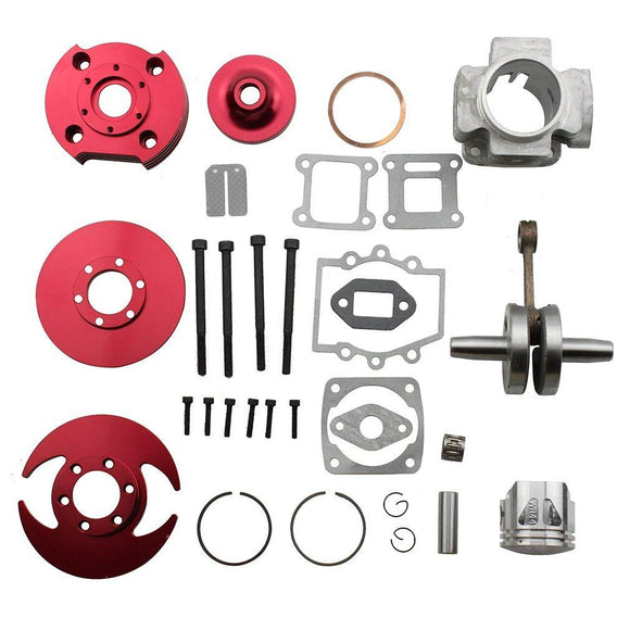 Stage 3 Big Bore Kit VI Kit 3 Slots 44mm Cylinder Head - Pocketbike SA