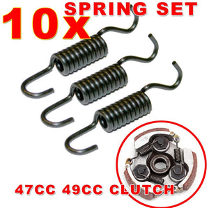 X10 Clutch Spring Sets (X3 Springs in a set = X30 Clutch Springs)