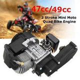 50cc 2 Stroke Air-Cooled 3HP Petrol Driven Dirt Bike Engines + Gearbox - Pocketbike SA