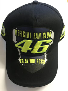 Official #46 Valentino Rossi Fan Club Cap - Pocketbike SA