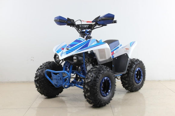 110cc 4 Stroke Midi Monster Quad - Blue - Pocketbike SA