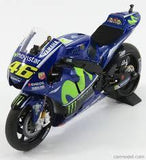 Model Bike 1:12 Minichamps #46 Valentino Rossi YZR M1 Movistar Yamaha MotoGP 2017 - Pocketbike SA