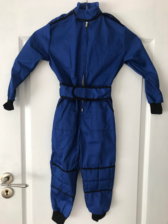 2-3 Years Kids Race Suite Blue/Black